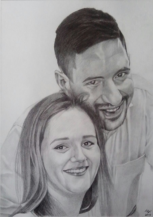 portrait, pencil - pencildrawing - spiritfc | ello
