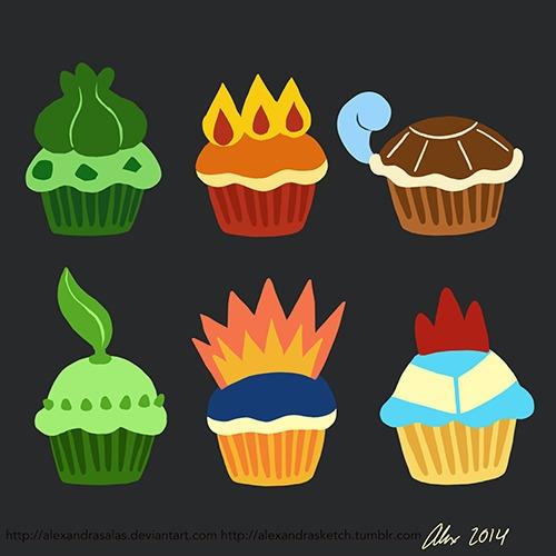 Testing Pokémon cupcake designs - alexandrasketch | ello