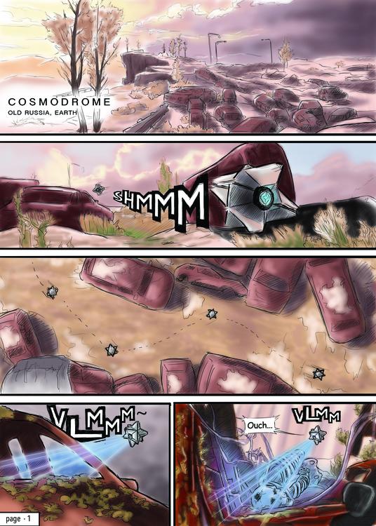 Destiny | Halo - pg. 1 - halo, destiny - pencilguy | ello