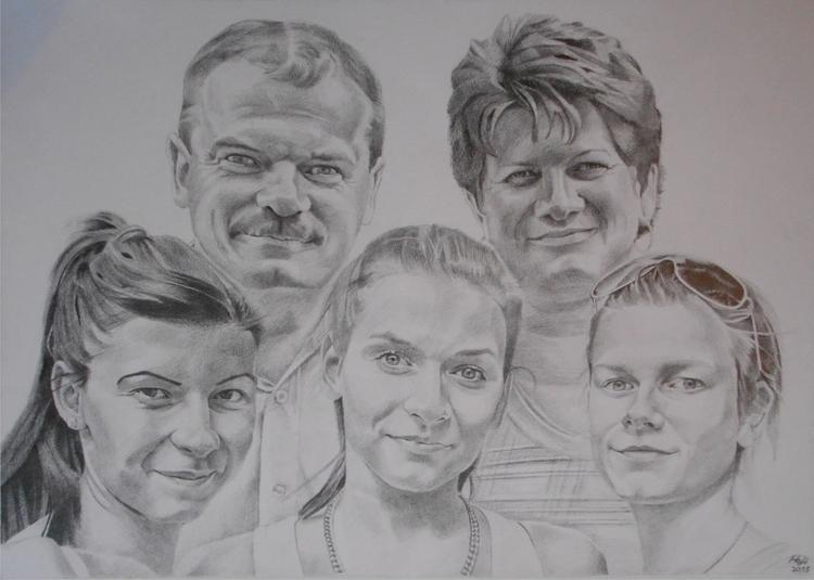 portrait, pencil - drawing, pencildrawing - spiritfc | ello