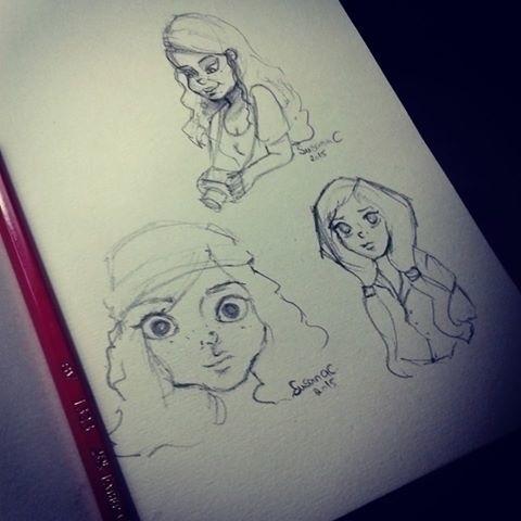 Character study - illustration, characterdesign - susanaicorreia | ello