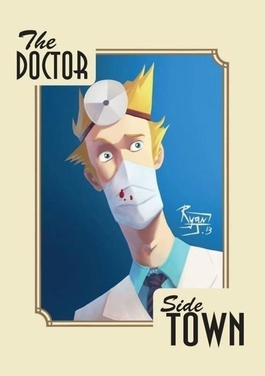Doctor - ryanjames, illustration - ryanjames-2088 | ello