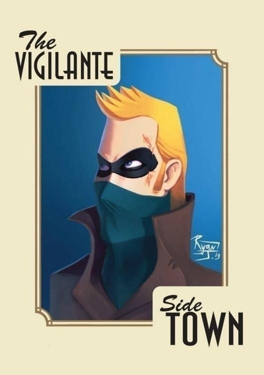 Vigilante - ryanjames, illustration - ryanjames-2088 | ello