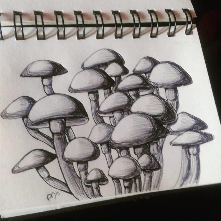 Day 2 - illustration, inktober, inktober2015 - andymendo | ello