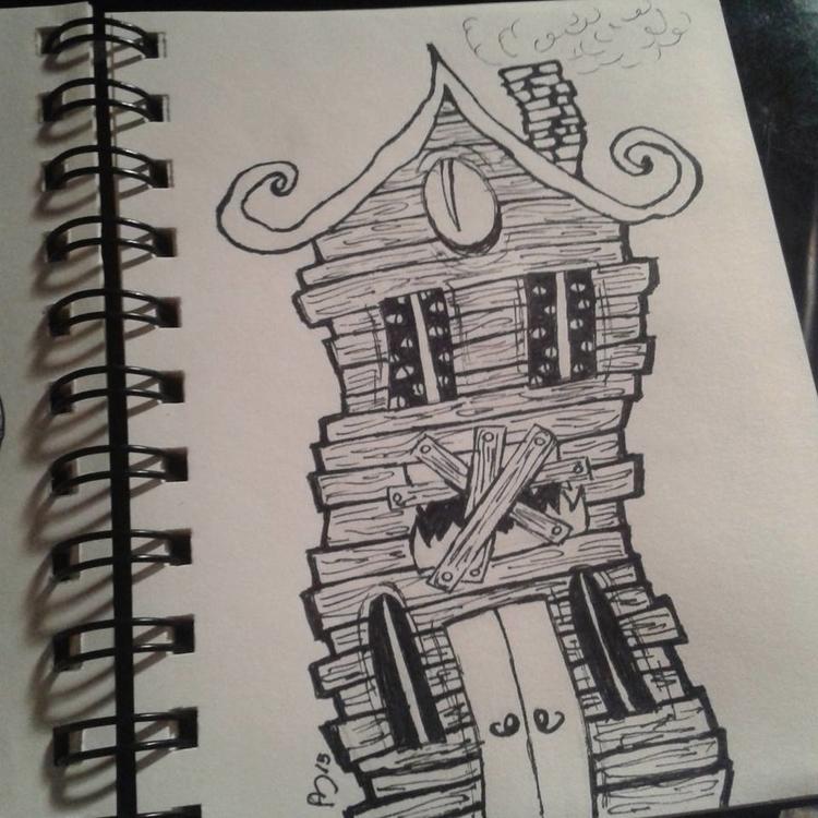 Day 3 - inktober, inktober2015, illustration - andymendo | ello