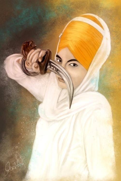 Kaur - illustration, painting, drawing - jassi-1125 | ello