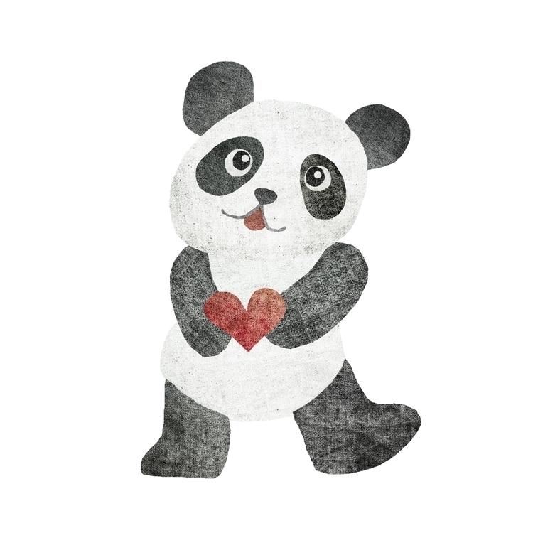 #panda#kawaiiart - kikistic | ello