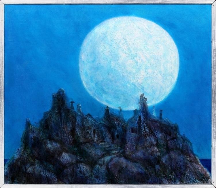 Earth - painting, illustration, drawing - zelenkorok | ello