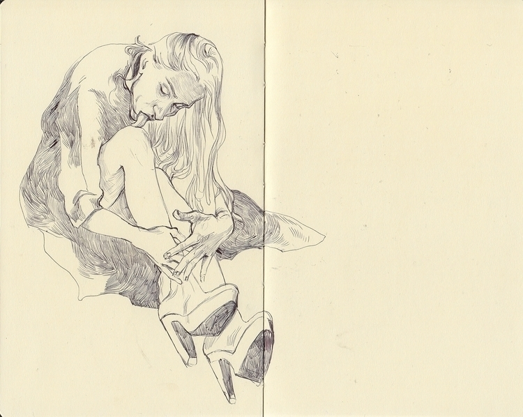 illustration, thomkemeyer, moleskine - thomke-9244 | ello