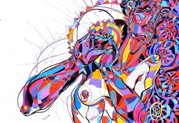 Lordly - illustration, painting - mariasusarenko | ello