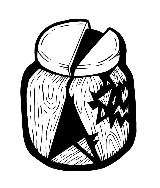 woodbottle - illustration - gi-7236 | ello