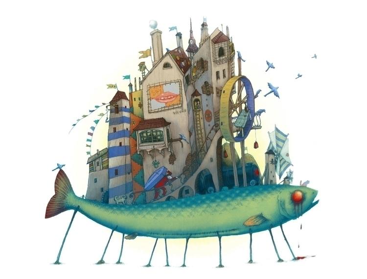 Tales City - illustration - vk050 | ello