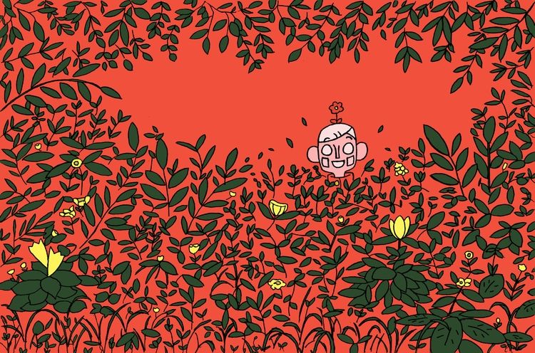 Illustration, Forests, Flowers - magicalseaside   ello