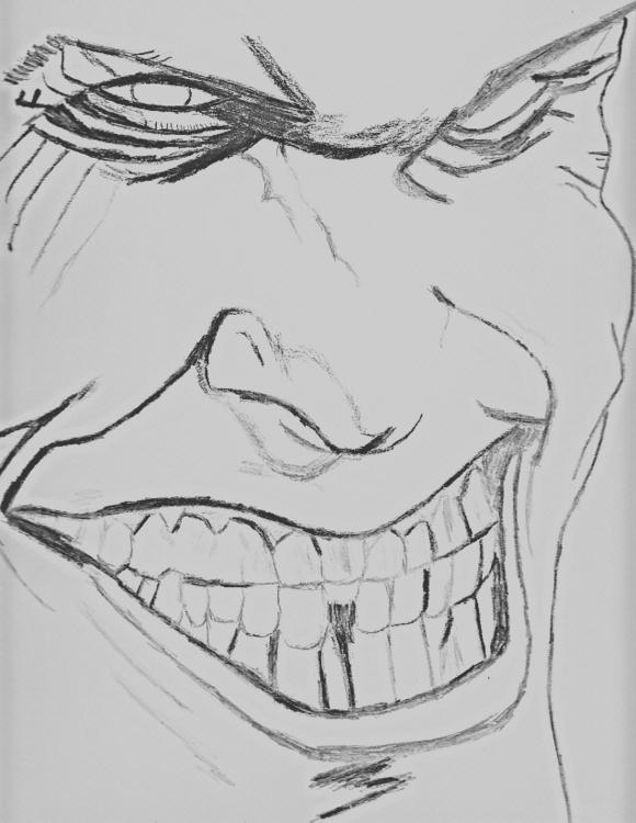 Joker - drawing, sketch - edwatkins | ello