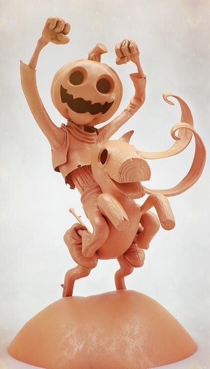 Jack Pumpkinhead. Concept Ed Mc - jonfermaia | ello
