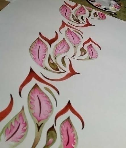 Original artwork- watercolor - marysheaffer   ello