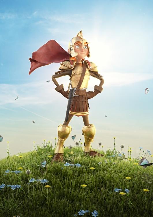 Spartan Kid. 3ds max, vray, pho - jonfermaia | ello