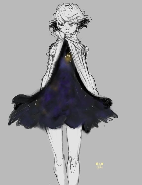 Star Boy 2 - sketches, illustration - imaniking | ello