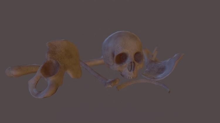 Bones - gameart - szymonfiutak | ello