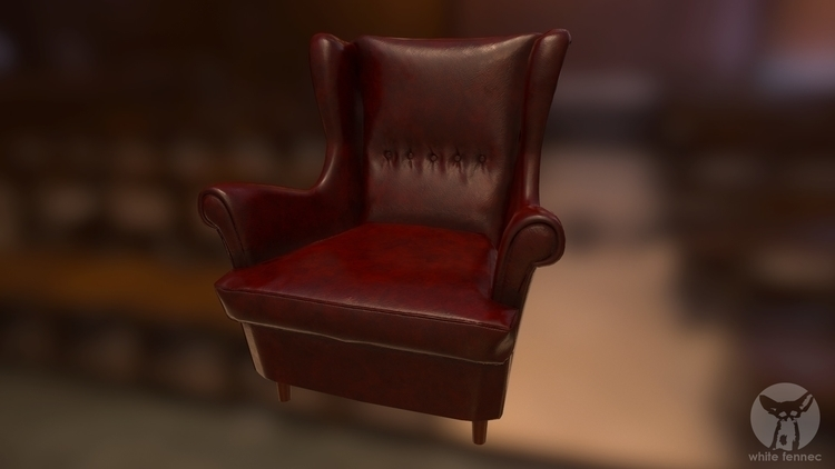 Chair - gameart - szymonfiutak | ello