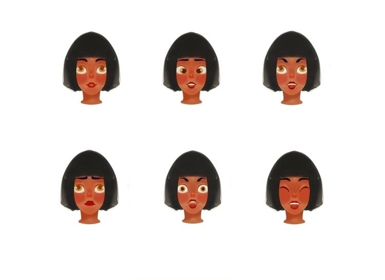 Rita - characterdesign, conceptart - babetteara | ello