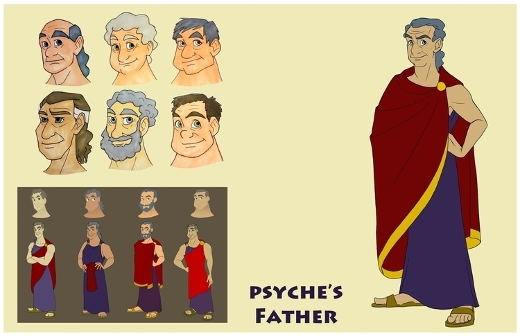 Father - psyche'sfather, greekmythology - gallagirl | ello