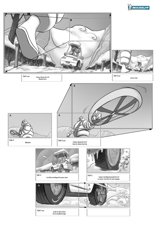 Storyboard page 3 - storyboard - lucae | ello