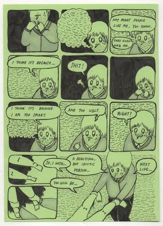 comic, illustration - pampamliu | ello