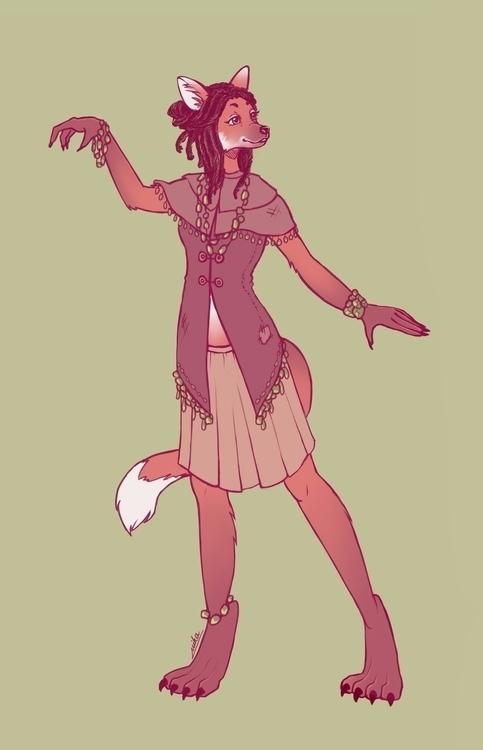 Hycious Oracle. character desig - ryuutsuart | ello