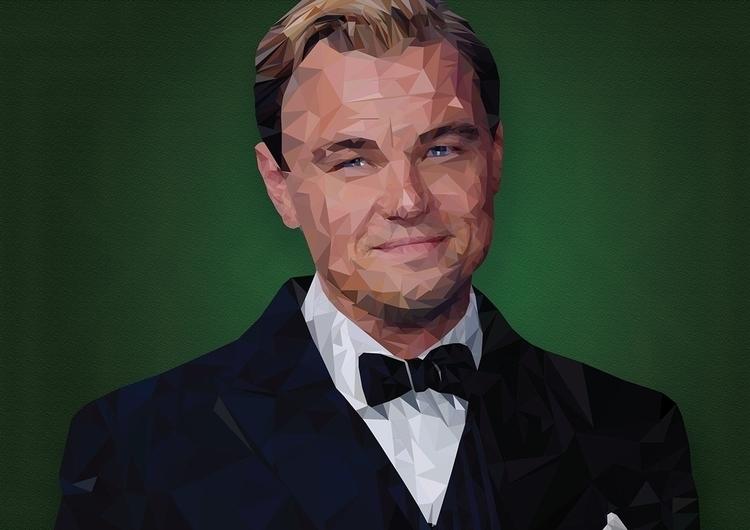 Leonardo DiCaprio - illustration - leoniewilliamson | ello