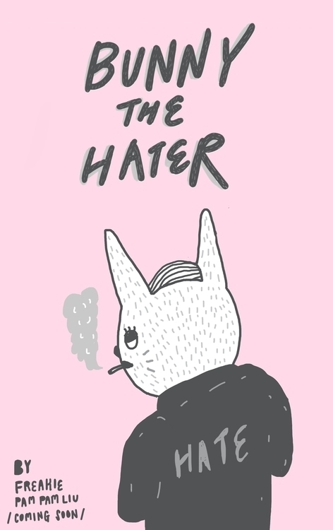bunnythehater, illustration - pampamliu | ello