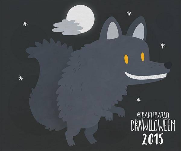 5 - Werewolf - werewolf, wolf, vector - clairestamper | ello