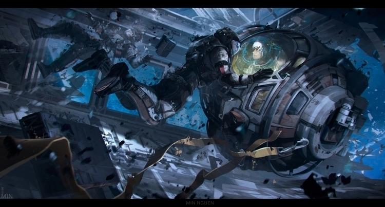 ANOMALY - anomaly, sci-fi, conceptart - minnguen | ello