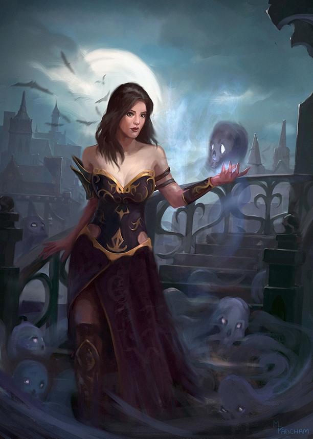 Necromancer - necromancer, magic - markpancham | ello