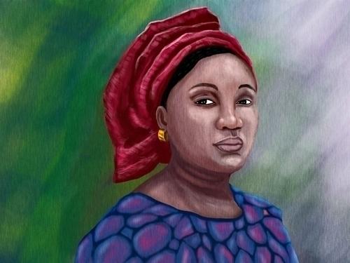 journey digital portraits began - akinwandeayodeji | ello