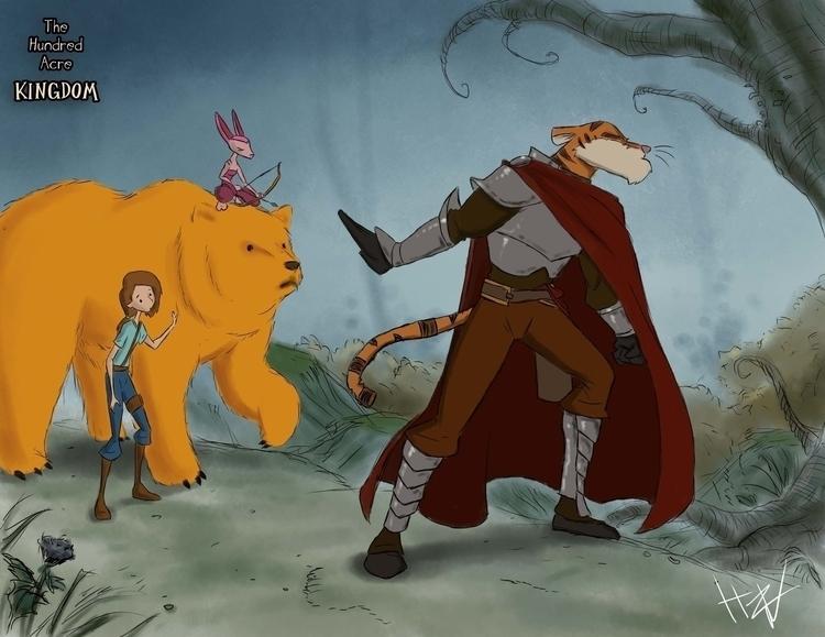 Searching Prince dark woods - hundredacrekingdom - hasaniwalker   ello