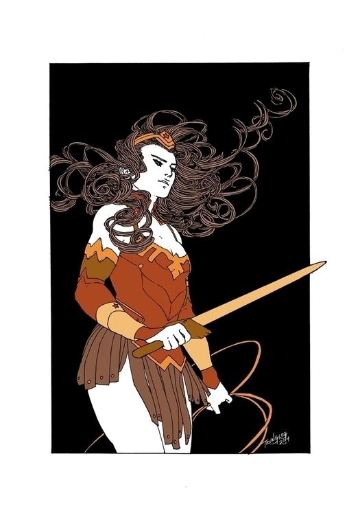 loved Kris design Woman immense - trungles | ello