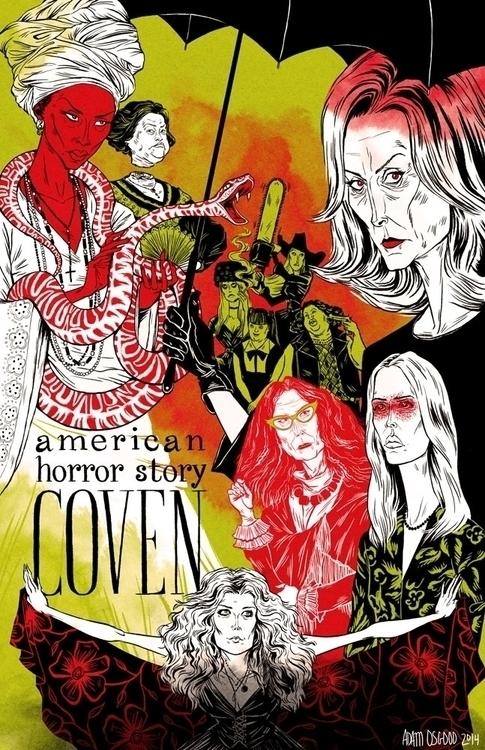 American Horror Story: Coven Po - adamosgood   ello