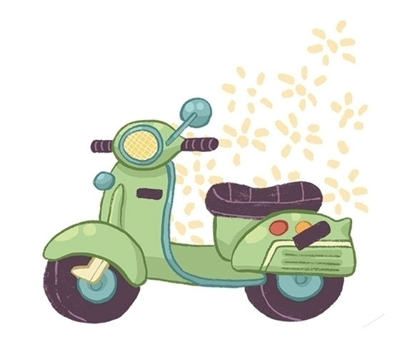 Vroom - moped, cute, small - kayke | ello