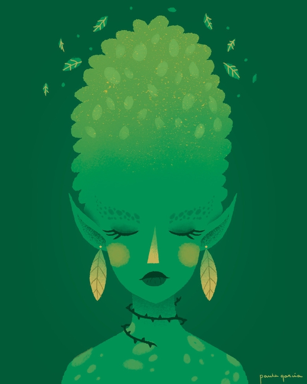 Nature Spirit Paula García - illustration - paulagarcia-1101 | ello