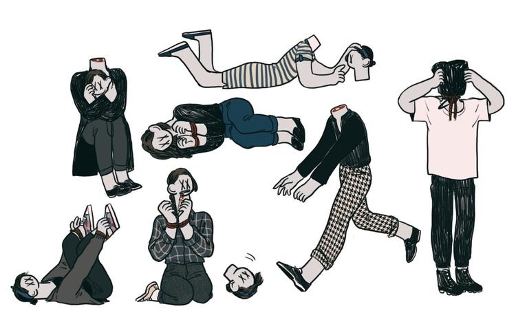 grotesque, illustration - mioim | ello