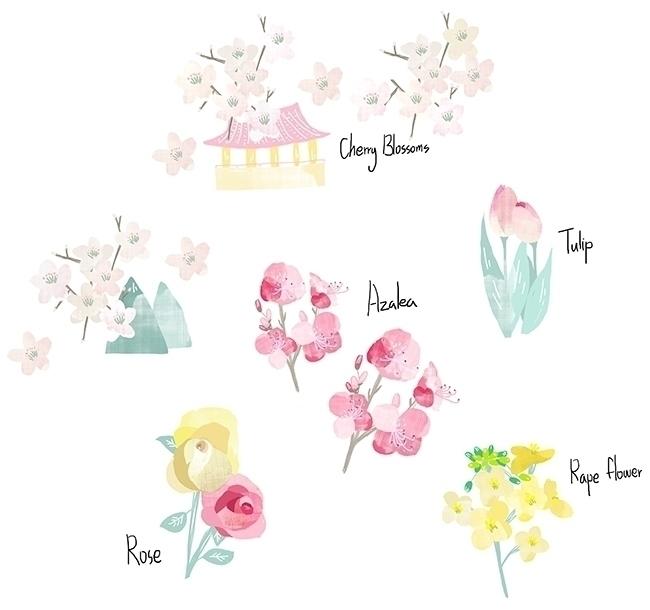Spring Flower Festival map_Sout - yebin   ello