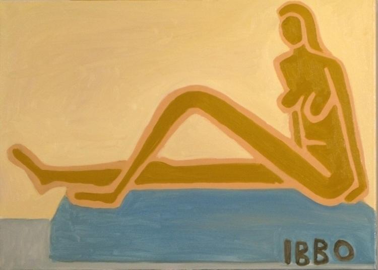 mino 90x65 - painting - jeffibbo | ello