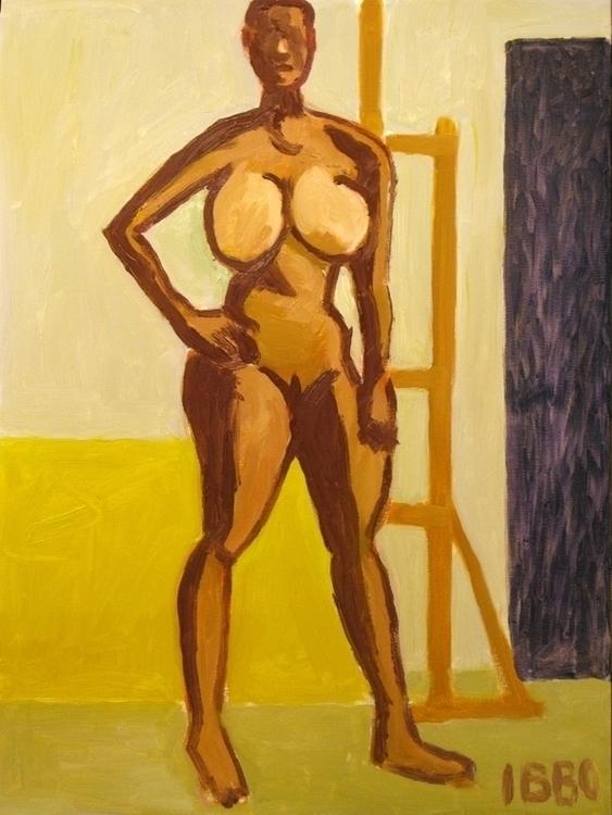 fanny 2 90x65 - painting - jeffibbo | ello