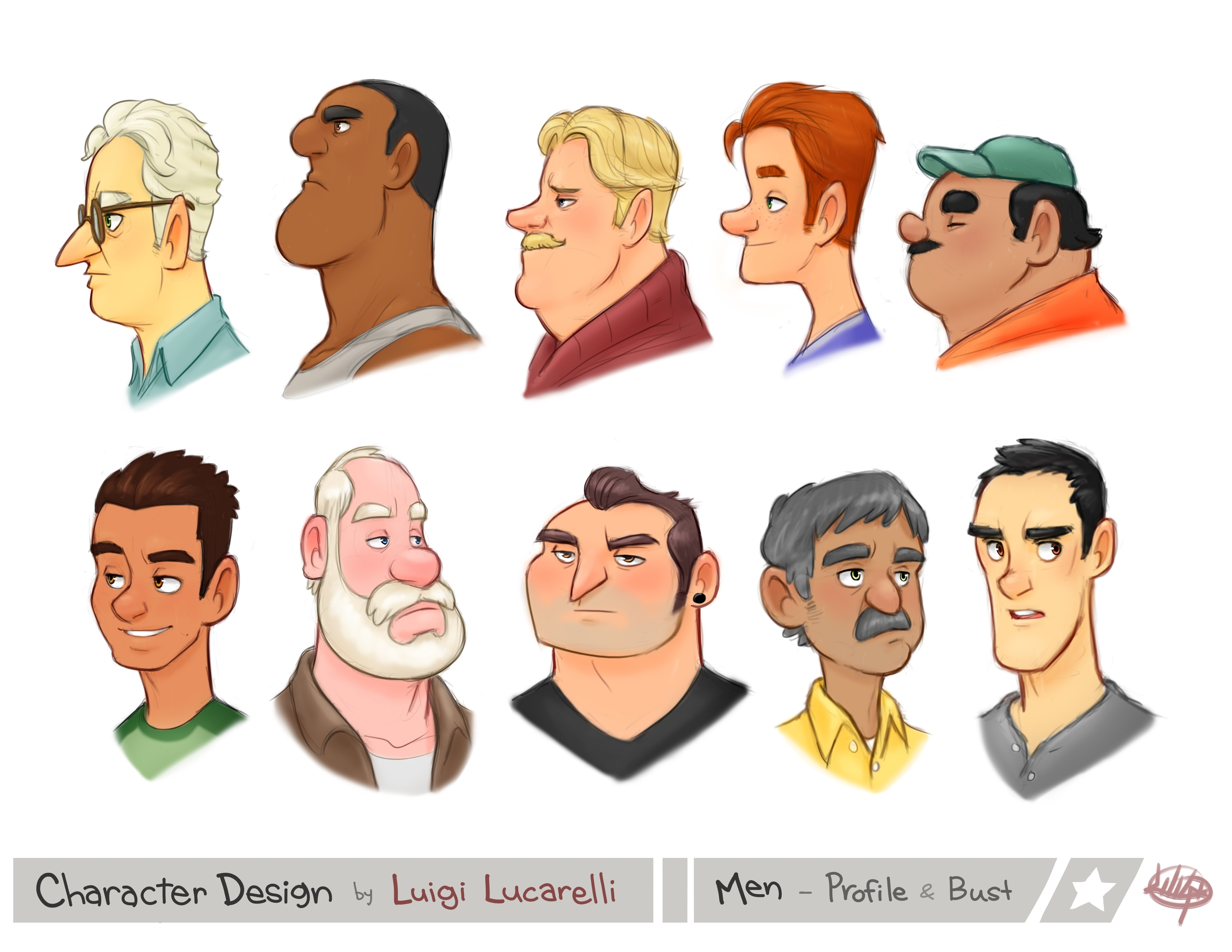 decided put Profiles Busts page - luigil-2352 | ello