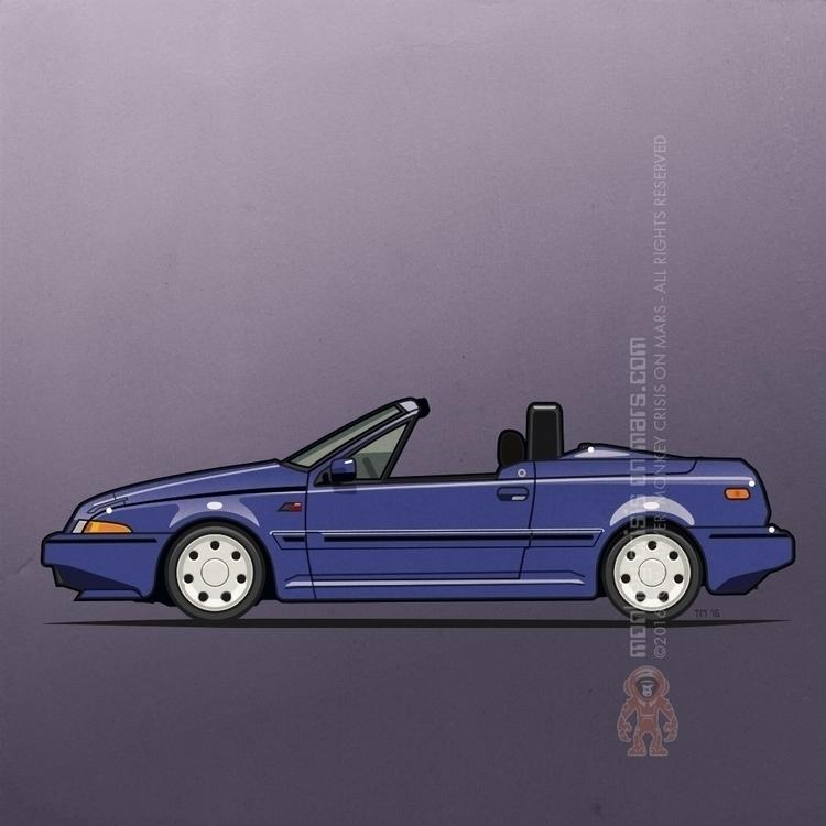 Volvo 480 Turbo Convertible – T - monkeycrisisonmars | ello