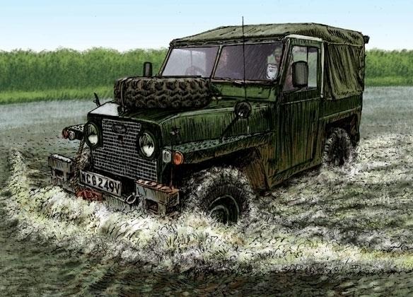 Land Rover Lightweight Billing - dannybriggs   ello
