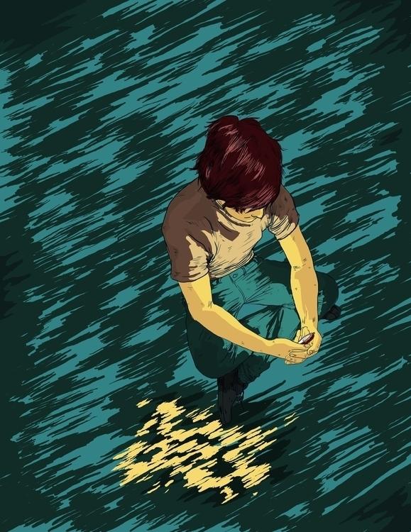 Guernica - illustration, drawing - jversoi_illo | ello