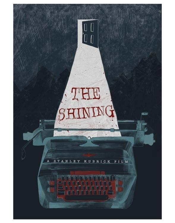 poster inspired favorite horror - rkillustration   ello