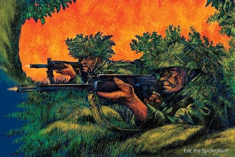 Rifles - #illustration, #digitalillustration - dannybriggs | ello